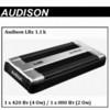 Автомобильный усилитель Audison LRx 1.1k -